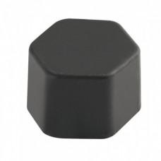 Silikonové krytky skrutiek čierne 20ks 19mm