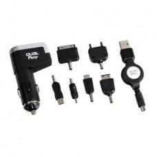 Autonabíjačka s USB, 6 redukcii s navijakom 12-24V