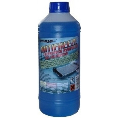 Chladiaca kvapalina G11 modrá 1L