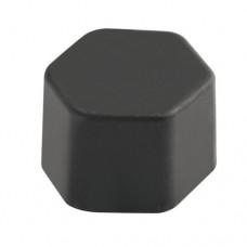 Silikonové krytky skrutiek čierne 20ks 17mm