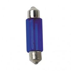 Žiarovka sulfit modrá 12V 5W 11x35 mm 2ks