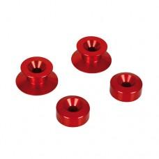 Chránič vidlice 10 mm červený